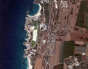 Атлит. Фотография с сайта maps.google.com