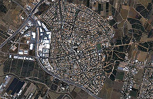 Кирьят-Экрон. Фотография с сайта maps.google.com
