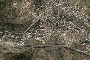 Кирьят-Йеарим. Фотография с сайта maps.google.com